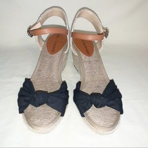 Lucky Brand Krizhy Espadrille Wedge Sandals Sz 7.5
